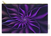 Nautilus Fractalus Moongarden Carry-all Pouch