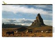 Navajo Horses At El Capitan Carry-all Pouch