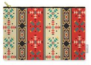 Navajo Style Pattern Carry-all Pouch