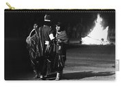 Navajo's Dance  Night Fire Rodeo Grounds Inter-tribal Indian Rodeo Gallup New Mexico 1969 Carry-all Pouch