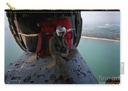 Naval Aircrewman Surveys The Gulf Carry-all Pouch