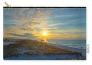Navarre Beach Sunrise 2014 09 26 01 C 0650 Carry-all Pouch