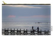 Navarre Beach Sunset Pier 10 Carry-all Pouch