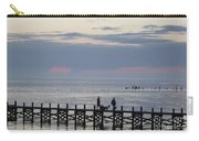 Navarre Beach Sunset Pier 11 Carry-all Pouch