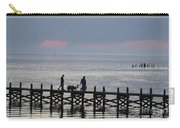 Navarre Beach Sunset Pier 12 Carry-all Pouch