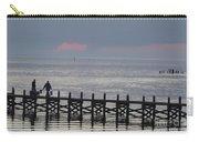 Navarre Beach Sunset Pier 14 Carry-all Pouch