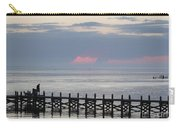 Navarre Beach Sunset Pier 15 Carry-all Pouch