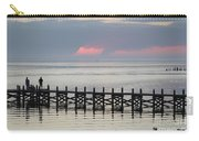 Navarre Beach Sunset Pier 17 Carry-all Pouch