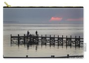Navarre Beach Sunset Pier 18 Carry-all Pouch