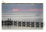 Navarre Beach Sunset Pier 19 Carry-all Pouch