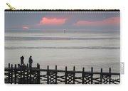 Navarre Beach Sunset Pier 20 Carry-all Pouch