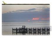Navarre Beach Sunset Pier 22 Carry-all Pouch