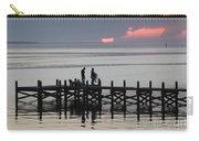 Navarre Beach Sunset Pier 25 Carry-all Pouch