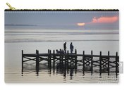 Navarre Beach Sunset Pier 26 Carry-all Pouch