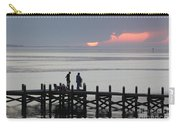 Navarre Beach Sunset Pier 27 Carry-all Pouch