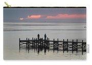 Navarre Beach Sunset Pier 28 Carry-all Pouch