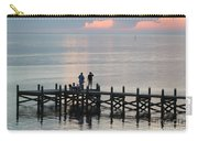 Navarre Beach Sunset Pier 35 Carry-all Pouch