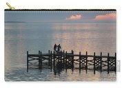 Navarre Beach Sunset Pier 37 Carry-all Pouch