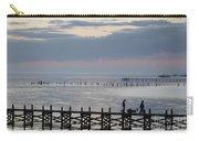 Navarre Beach Sunset Pier 8 Carry-all Pouch