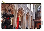 Nave Of The Church Of Our Lady Carry-all Pouch