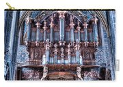 Nave Organ And Paintings Of Saint Cecile Carry-all Pouch