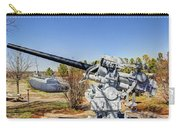 Navel Gun Over Looking Uss Batfish Carry-all Pouch
