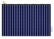 Navy Pinstripe 1 Carry-all Pouch