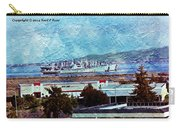 Navy Ships As A Painting Carry-all Pouch