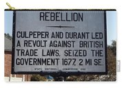 Nc-a21 Culpepers Rebellion Carry-all Pouch