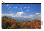Nc Mountains With Scripture Carry-all Pouch
