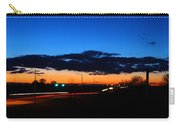 Nebraska Highway Sunset Carry-all Pouch