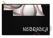Nebraska Loves Baseball Carry-all Pouch by Andee Design
