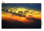 Nebraska Mammatus Sunset Carry-all Pouch