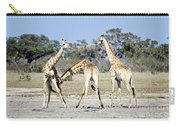 Necking Giraffes Botswana Carry-all Pouch
