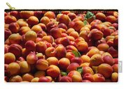 Nectarines For Sale At Weekly Market Carry-all Pouch