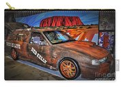Ned Kelly's Car At Ayers Rock Carry-all Pouch by Kaye Menner