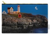 Neddick Lighthouse Carry-all Pouch by Susan Candelario