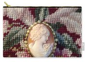 Needle Work Cameo Carry-all Pouch