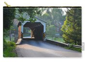 Neff's Mill Covered Bridge Lancaster County Carry-all Pouch