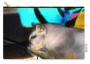 Negative Cat Carry-all Pouch