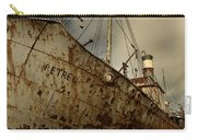 Neglected Whaling Boat Carry-all Pouch by Amanda Stadther