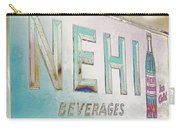 Nehi Ice Cold Beverages Sign Carry-all Pouch