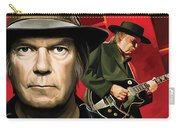 Neil Young Artwork Carry-all Pouch