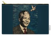 Nelson Mandela Man Of Peace Carry-all Pouch