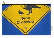 Nene Crossing Sign Haleakala National Park Carry-all Pouch