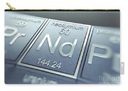 Neodymium Chemical Element Carry-all Pouch