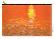 Neon Beach Sunset Carry-all Pouch