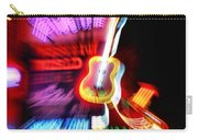 Neon Burst In Downtown Nashville Carry-all Pouch by Dan Sproul