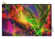 Neon Filigree Carry-all Pouch