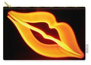 Neon Lips Carry-all Pouch